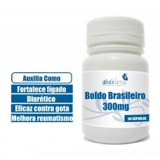 Boldo Brasileiro 300mg 90 cápsulas
