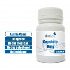Capsiate 6mg 60 Cápsulas