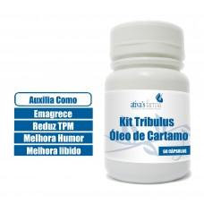 Kit Tribulus e Óleo de Cartamo